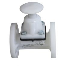We are Leading Manufacturer of Diapharagm Valve,Flanged End PP Diaphragm Valve India