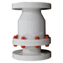 We are leading manufacturer and supplier of pp non return valve flange end